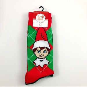 New Christmas Elf On The Shelf Socks Size 6.5-12